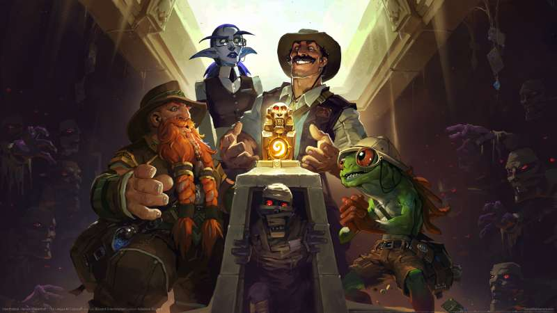 Hearthstone: Heroes of Warcraft - The League of Explorers wallpaper or background