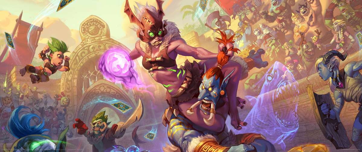 Hearthstone: Rastakhan's Rumble wallpaper or background