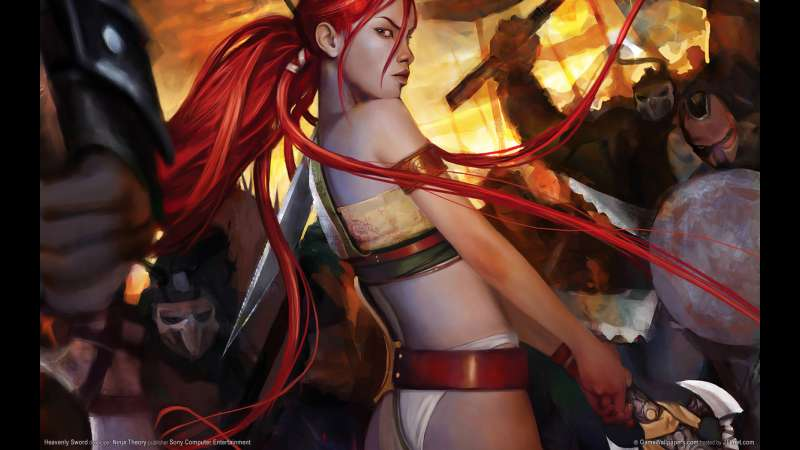Heavenly Sword wallpaper or background 06