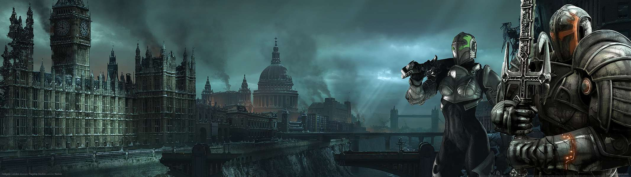 Hellgate: London dual screen wallpaper or background