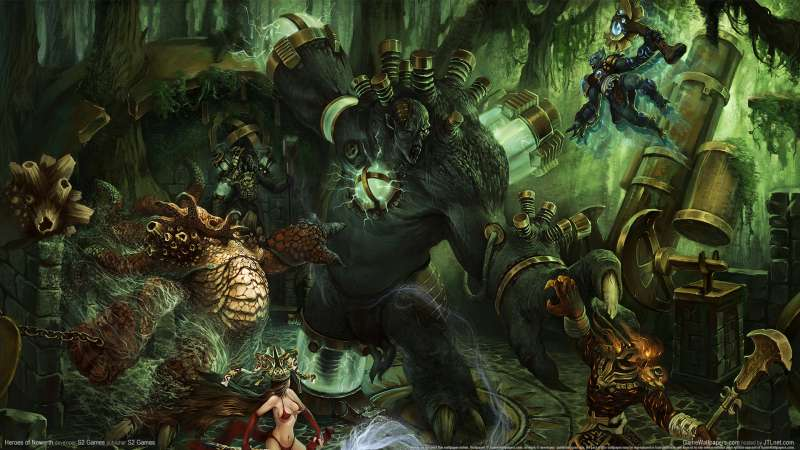 Heroes of Newerth wallpaper or background 01