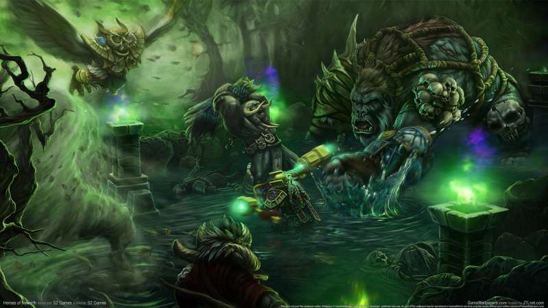 Heroes of Newerth wallpaper or background 02