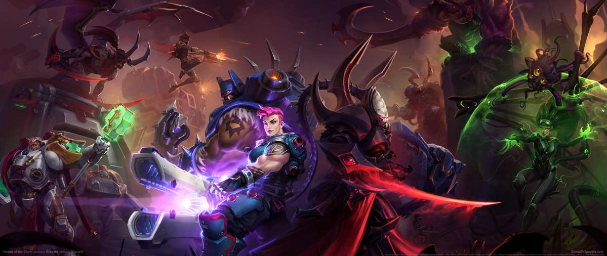 Heroes Of The Storm Ultrawide Wallpaper Or Background 09