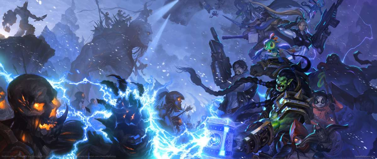 Heroes Of The Storm Wallpaper 1080p: Heroes Of The Storm Fan Art UltraWide 21:9 Wallpapers Or