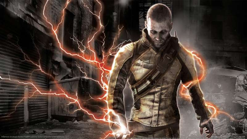 Infamous wallpaper or background 04