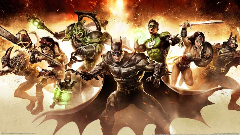 Infinite Crisis wallpaper or background 02
