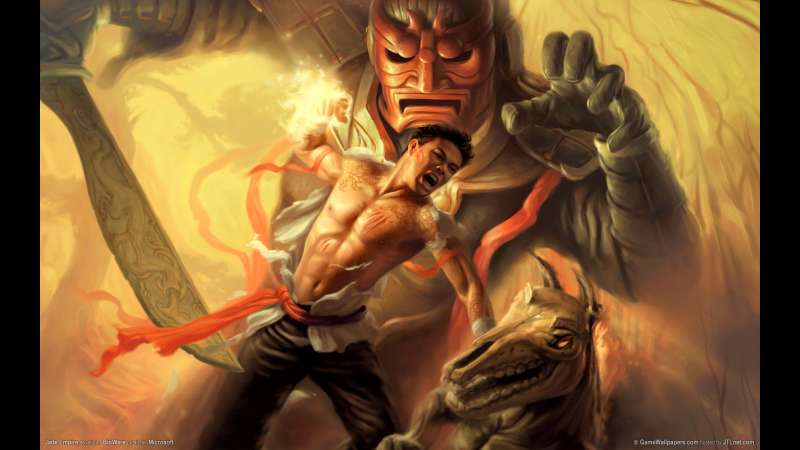 Jade Empire wallpaper or background 01