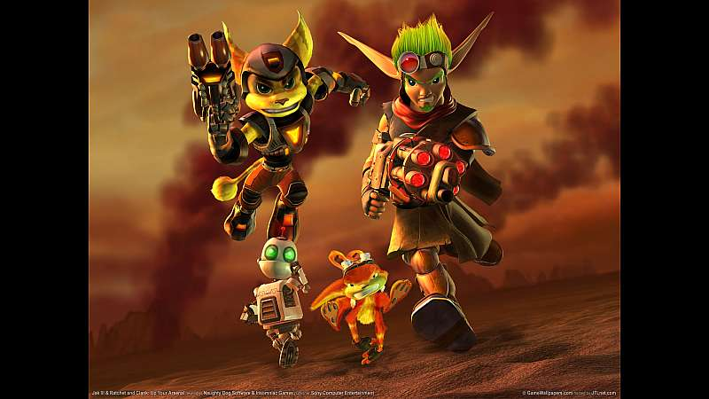 Jak 3 & Ratchet and Clank: Up Your Arsenal wallpaper or background