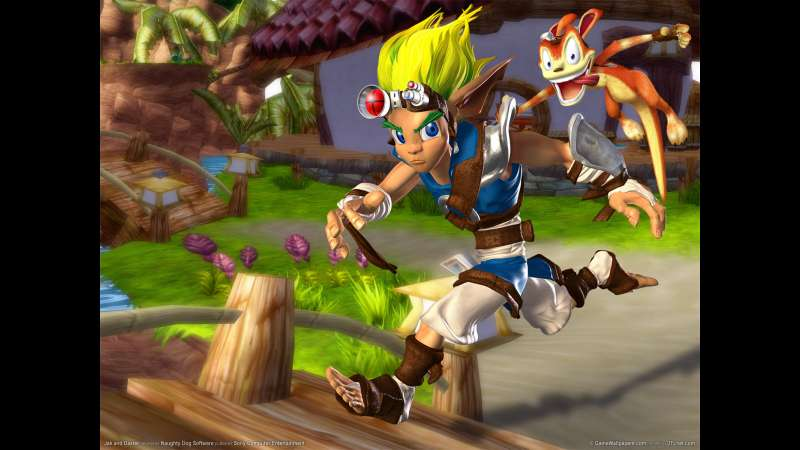 Jak and Daxter wallpaper or background 01