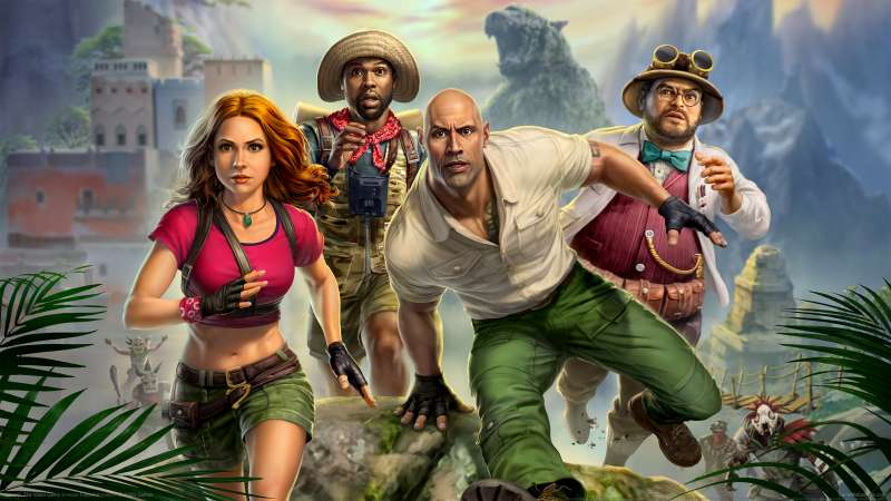 Jumanji: The Video Game wallpaper or background 01