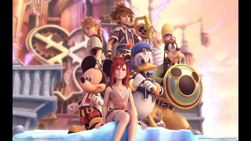 Kingdom Hearts 2 wallpaper or background 01