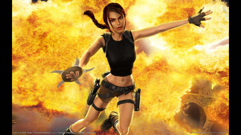 Lara Croft Tomb Raider: The Action Adventure wallpaper or background 01