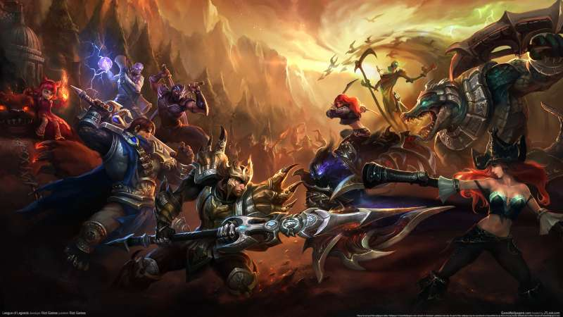 League of Legends wallpaper or background 12