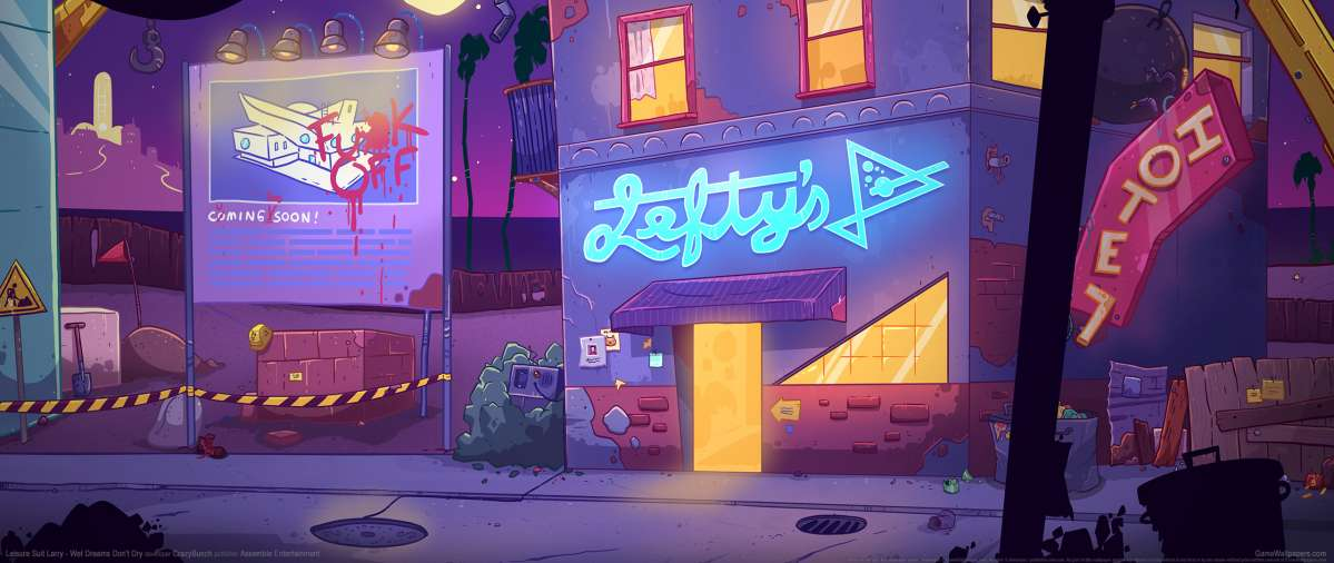 Leisure Suit Larry - Wet Dreams Don't Dry wallpaper or background
