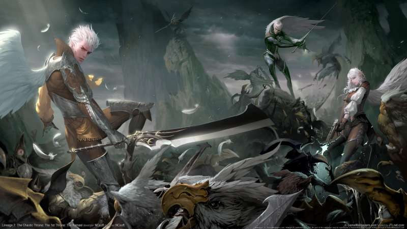 Lineage 2: The Chaotic Throne: The 1st Throne: The Kamael wallpaper or background 04