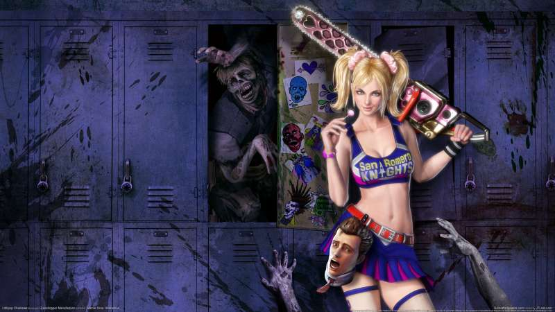 Lollipop Chainsaw wallpaper or background 01