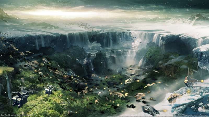 Lost Planet 2 wallpaper or background 02