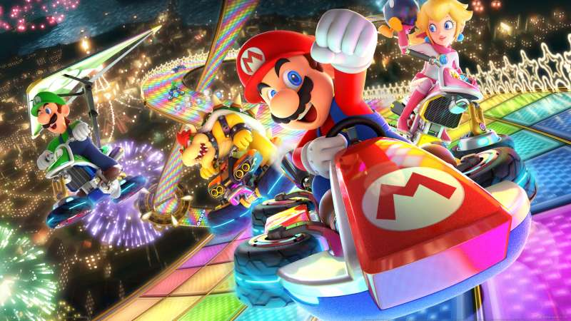 Mario Kart 8 Deluxe wallpaper or background