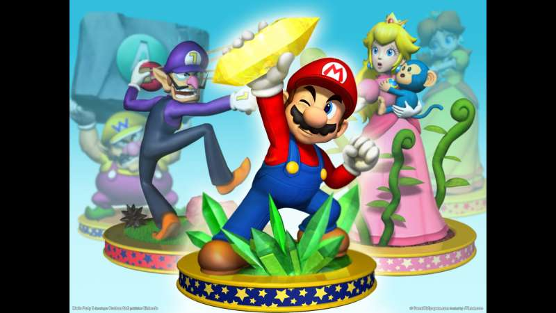 Mario Party 5 wallpaper or background 01