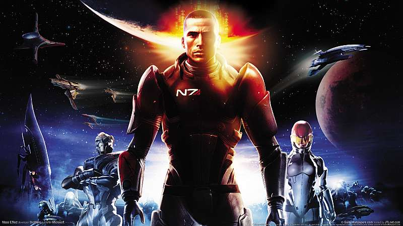 Mass Effect wallpaper or background