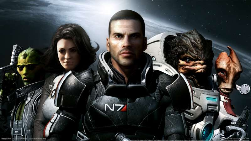 Mass Effect 2 wallpaper or background 06