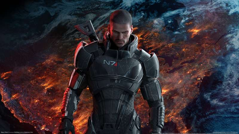 Mass Effect 3 wallpaper or background 01