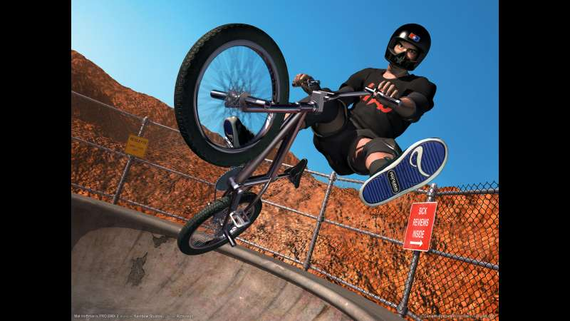 Mat Hoffman's Pro BMX 2 wallpaper or background