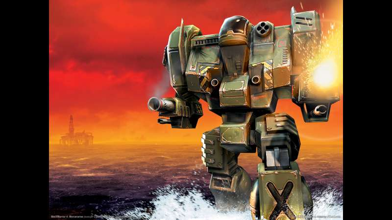 MechWarrior 4: Mercenaries wallpaper or background 01