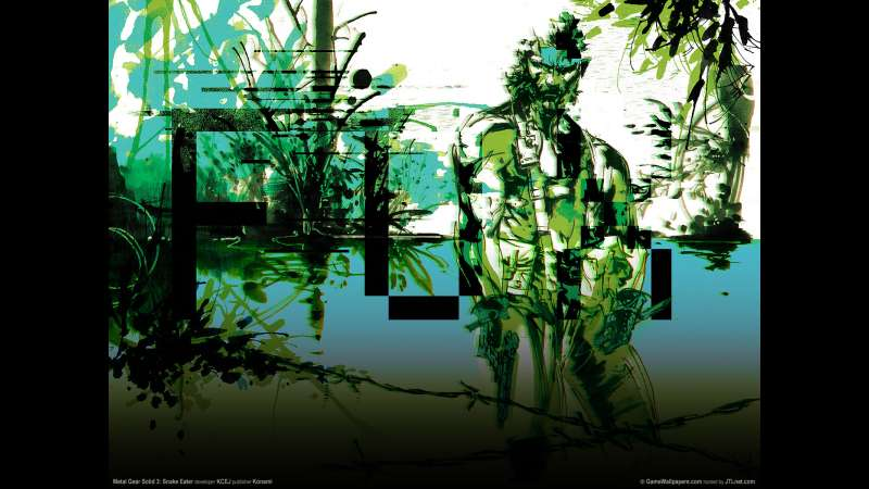 Metal Gear Solid 3: Snake Eater wallpaper or background 01