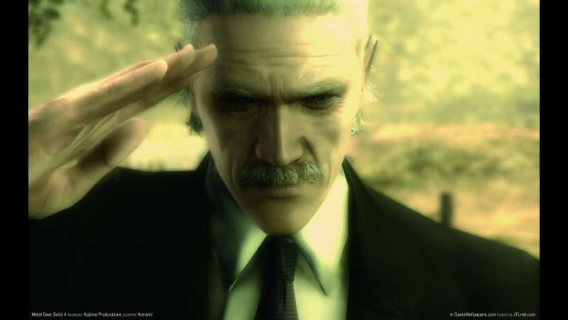 Metal Gear Solid 4: Guns of the Patriots wallpaper or background 02