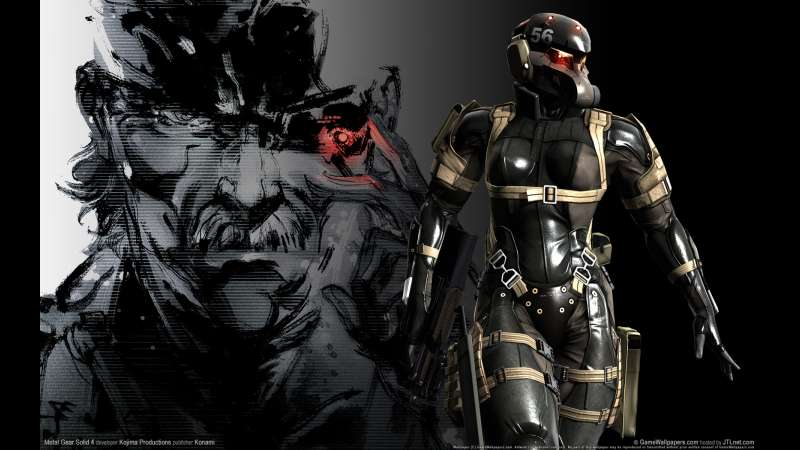 Metal Gear Solid 4: Guns Of The Patriots Wallpapers Or
