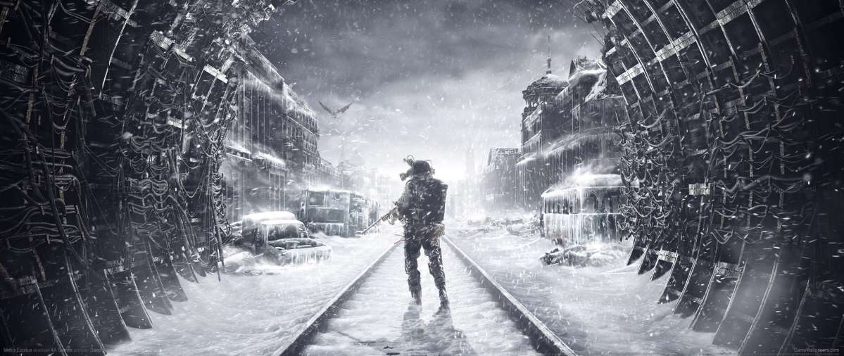 Metro Exodus ultrawide wallpaper or background 02