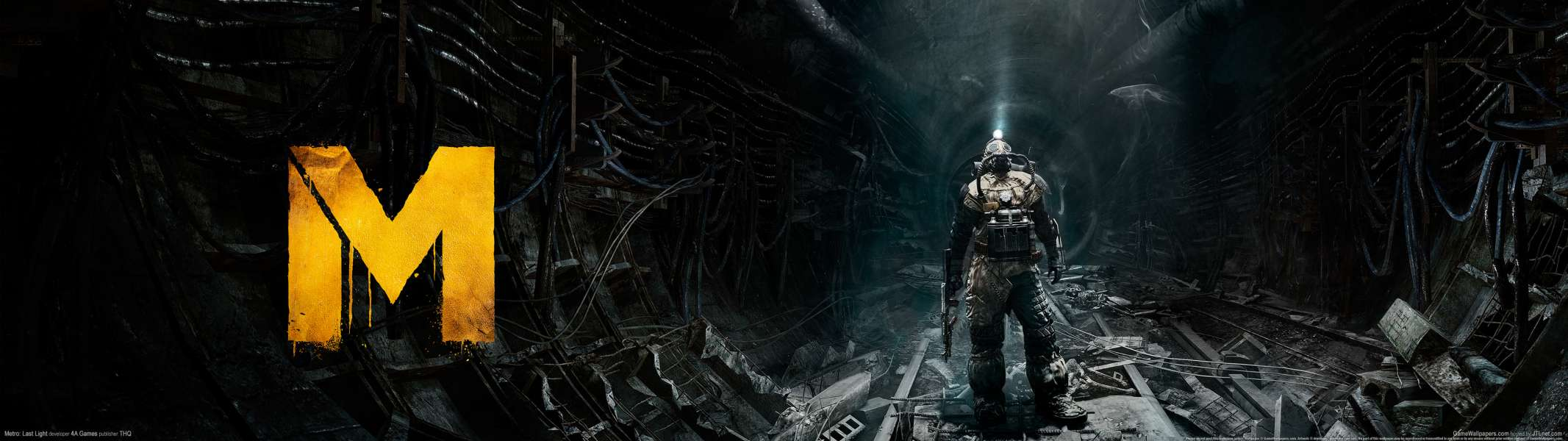 Metro: Last Light dual screen wallpaper or background