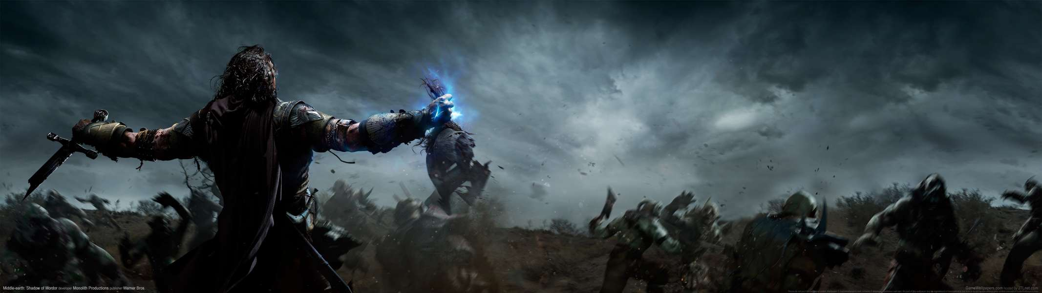 Middle-earth: Shadow of Mordor dual screen wallpaper or background