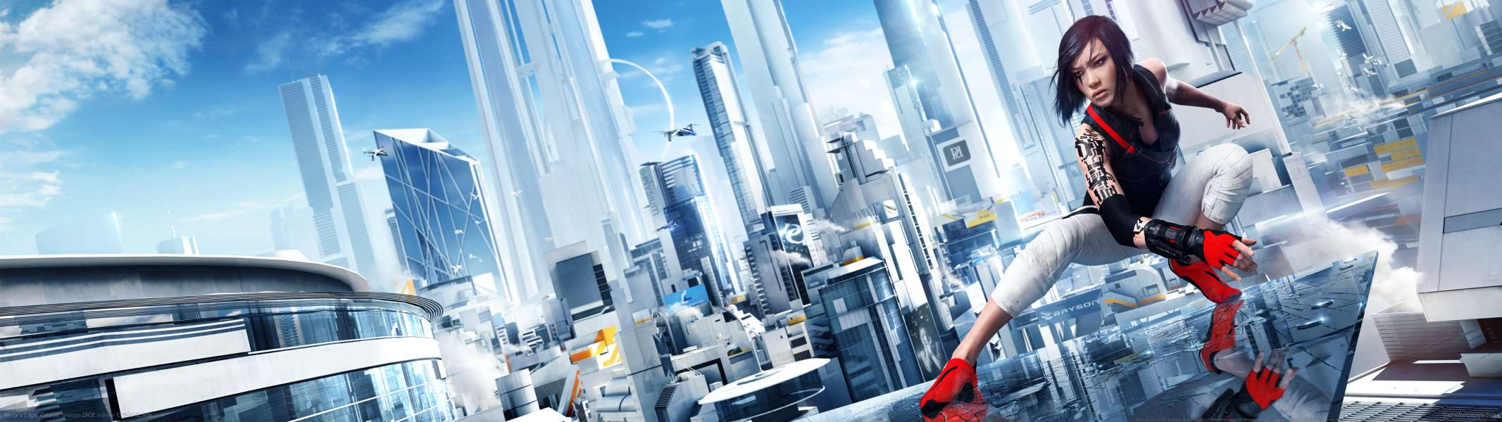 Mirror's Edge: Catalyst dual screen wallpaper or background