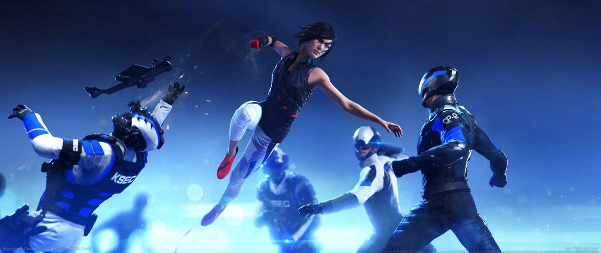 Mirror 39 S Edge Catalyst Ultrawide 21 9 Wallpapers Or