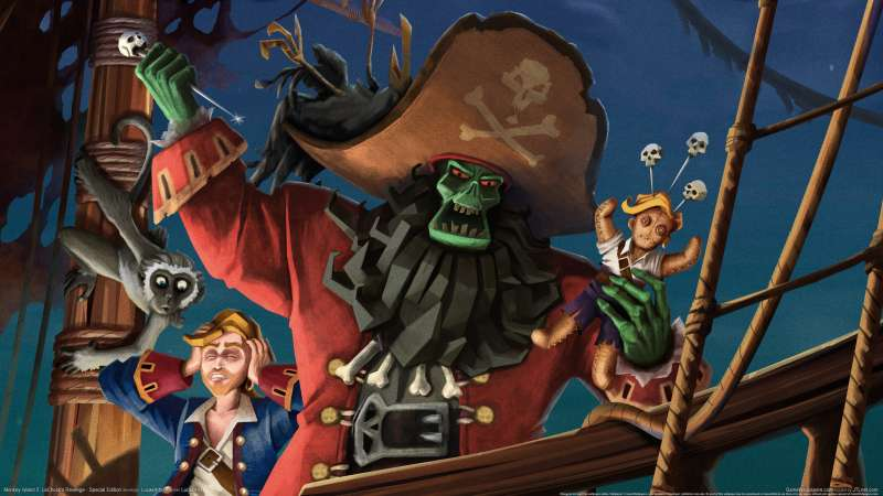 Monkey Island 2: LeChuck's Revenge - Special Edition wallpaper or background 02