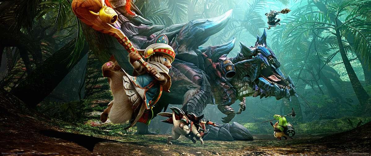Monster Hunter Generations Ultrawide 21 9 Wallpapers Or Desktop