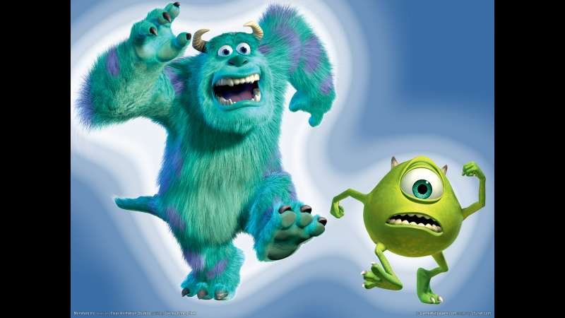 Monsters Inc wallpaper or background 01