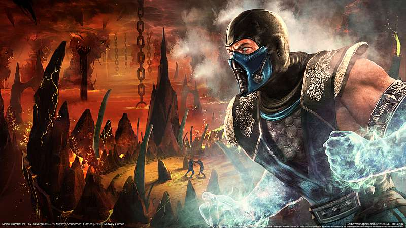 Mortal Kombat vs. DC Universe wallpaper or background