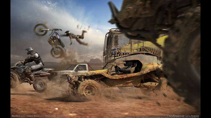 MotorStorm wallpaper or background