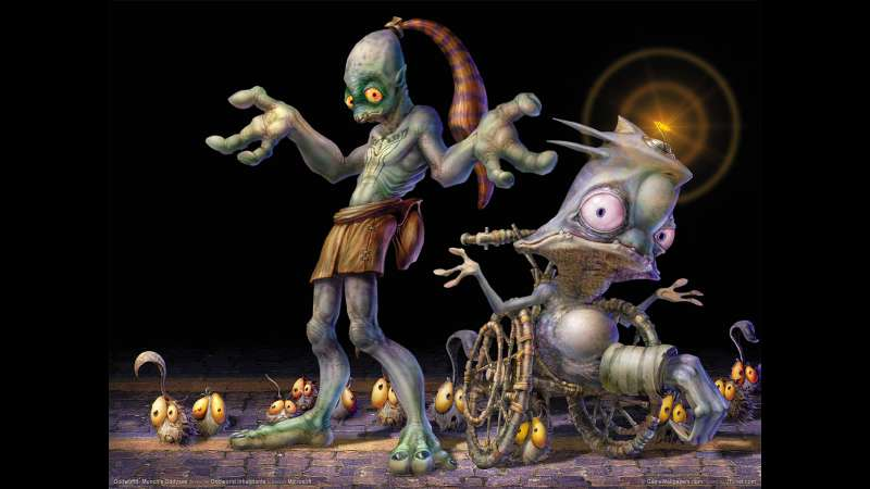 Munch's Oddysee wallpaper or background 05