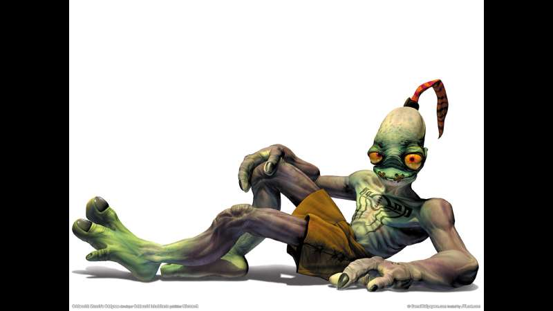 Munch's Oddysee wallpaper or background 08