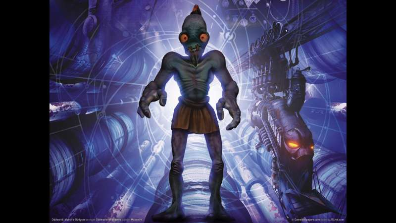 Munch's Oddysee wallpaper or background 12