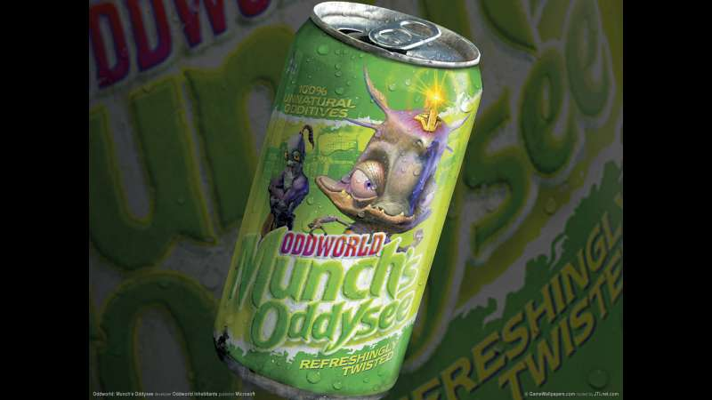 Munch's Oddysee wallpaper or background 14