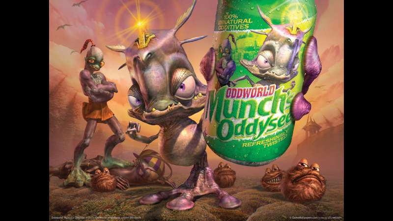 Munch's Oddysee wallpaper or background 16