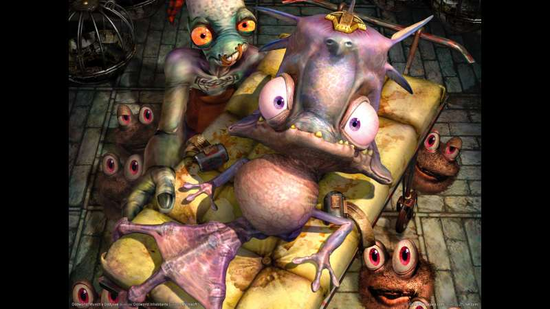 Munch's Oddysee wallpaper or background 17
