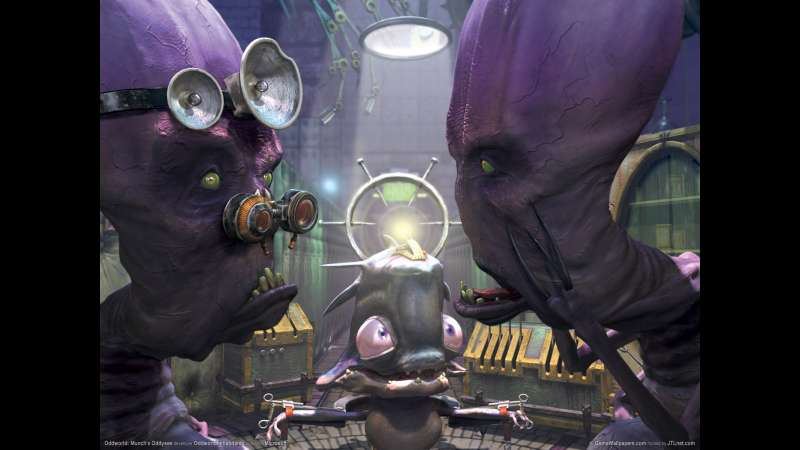 Munch's Oddysee wallpaper or background 19