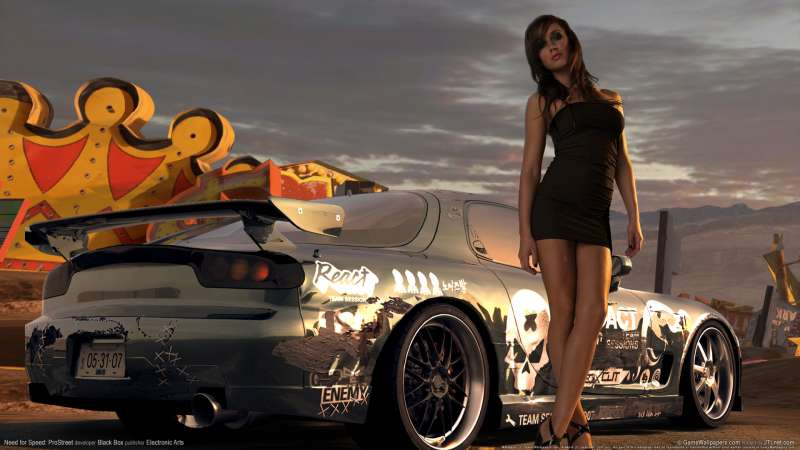 Need for Speed: ProStreet wallpaper or background 08