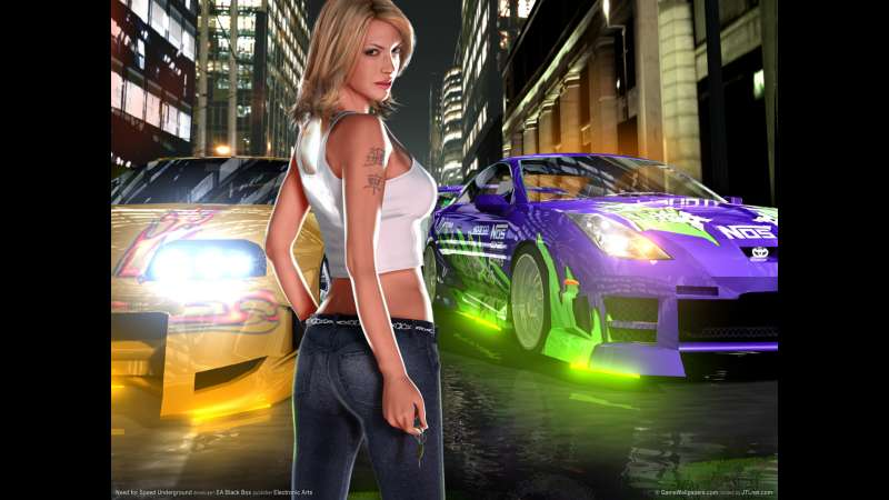 Need for Speed Underground wallpaper or background